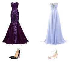"""""""Prom 2016 #14"""" by luvtae ❤ liked on Polyvore featuring Christian Louboutin"""