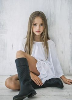 Kristina Pimenova is tagged to be the most beautiful girl in the world. Description from pinterest.com. I searched for this on bing.com/images