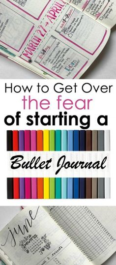 Bullet Journal Getting Over The Fear of Starting a Bullet Journal Learn how to get over the fear of starting a bullet journal with these tips and pointers Bullet Journal Hacks, Bullet Journal Printables, Bullet Journal How To Start A, Journal Template, Bullet Journal Layout, Bullet Journal Inspiration, Bullet Journal Getting Started, Bujo, To Do Planner