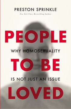 Homosexuality is one of the most divisive topics among evangelical Christians today. In People to Be Loved, Preston Sprinkle challenges those on both sides of the debate to consider what the Bible says and how we should approach the topic of homosexuality in light of it.