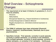 Diagnosis and the dsm 5 changes from the dsm iv and the dsm v