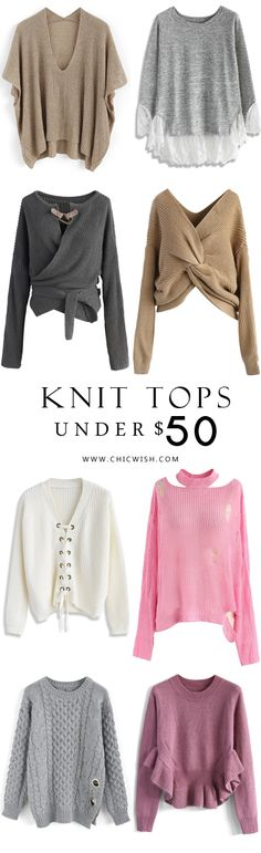 Find more Fall/Winter Knit Tops at chicwish.com