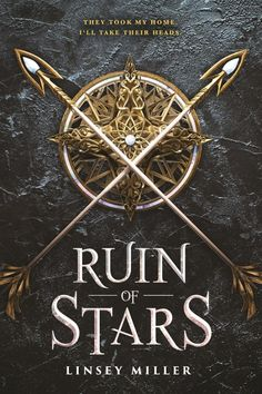 #CoverReveal Ruin of Stars (Mask of Shadows, #2) by Linsey Miller