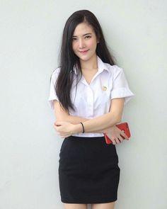 Cute Asian Girls, Cute Girls, Student Fashion, Girl Fashion, Asian Model Girl, School Girl Japan, University Girl, Thai Traditional Dress, Cute Japanese Girl