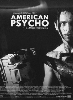 American Psycho. I have finally seen it but it is nothing special except for Christian Bale of course (seen 09/14)