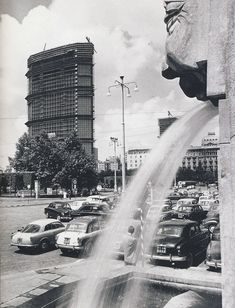 MILANO Storica - Page 3 - SkyscraperCity Vintage Italy, Old Images, Central Europe, Sicily, Black And White Photography, Vintage Photos, Landscape, Architecture, Places