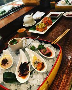 Sashimi selection a la Sashimi, The Selection, Drink, Ethnic Recipes, Food, Beverage, Essen, Meals, Yemek