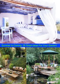 Summer Is Coming: 35 Great Ideas For Your Garden!