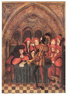 Errol Le Cain, The Pied Piper of Hamelin Children's Book Illustration, Watercolor Illustration, Illustrations, Fairytale Art, Renaissance Art, Whimsical Art, Art Images, Fantasy Art, Fairy Tales