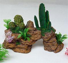 SNW Aquarium Ornament Fish Tank Decoration Artificial plants Simulation Rockery Cactus Landscape Decoration Crafts Shopping New World Pet http://www.amazon.com/dp/B01672RMP0/ref=cm_sw_r_pi_dp_B9b6wb0K4D24T