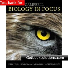 Campbell biology 9th edition pdf download campbell biology test bank for campbell biology in focus 1st edition by urry fandeluxe Choice Image