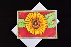 Flower Greeting Card Birthday Anniversary by MitchiesGalleria