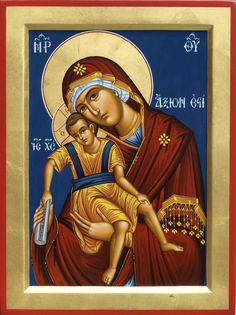Theotokos by Badri Shengelia of Georgia