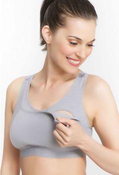 071c037588c Workout nursing bra from la leche league - Milk Nursingwear Nursing Sports  Bra