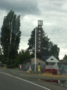 Puyallup Wa, Gas Service, Gas Station, Pumps, Signs, Color, Choux Pastry, Colour, Shop Signs