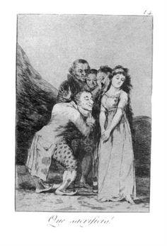 Que sacrifico!  - Francisco de Goya