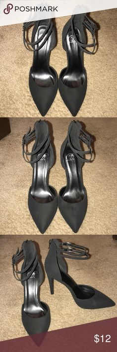 691fcfec874 D black pump with ankle straps size Gently used black D pump with ankle  straps D Shoes Heels