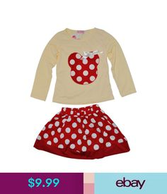 ccd9d13fe07 Girls  Clothing (Sizes 4  amp  Up) Girls Minnie Mouse Dress Skirt 2