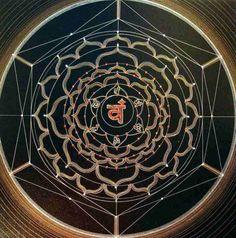 CHAKRA II (Swadistana – Smyrnæ Ecclesiæ) (Pintura), 60x60 cm por Joma Sipe CHAKRA II (Swadistana – Smyrnæ Ecclesiæ) (Ano 2006, Caneta de prata e ouro e cristais sobre tela acrílica preta, 60x60 cm, 200,00 €) Et angelo Smyrnæ ecclesiæ scribe: Hæc dicit primus, et novissimus, qui fuit mortuus, et vivit: Scio tribulationem tuam, et paupertatem tuam, sed dives es: et blasphemaris ab his, qui se dicunt Judæos esse, et non sunt, sed sunt synagoga Satanæ. Nihil horum timeas quæ passurus es. ...