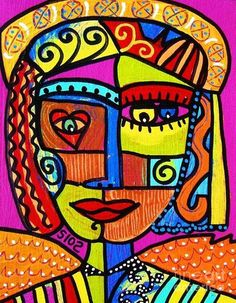 Tribal African Angel Painting  - Tribal African Angel Fine Art Print
