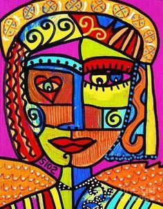 Tribal African Angel Painting  - Tribal African Angel Fine Art Print