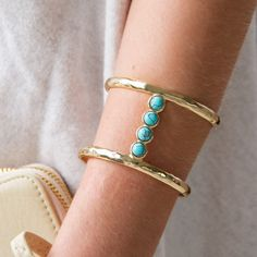 """""""Double Layer Beaded Cuff"""" 