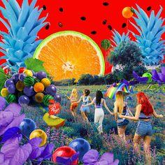 Red velvet red summer/red flavor album cover