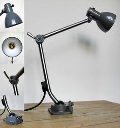 Lampe Kandem 802 design Marianne Brandt - Bauhaus Jielde tischlampe gelenkelampe