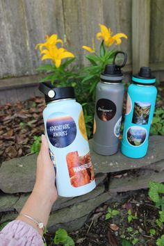 Water Bottle With Stickers, Happy Squirrel, This Is Water, Photo Exhibit, Adventure Aesthetic, Reusable Water Bottles, Hydro Flask, Bryce Canyon, Waterproof Stickers