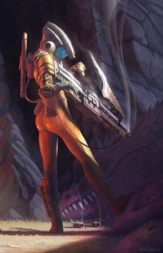 Monster Hunters, You Are The Real Monsters Arte Cyberpunk, Arte Sci Fi, Sci Fi Art, Foto 3d, Real Monsters, Classic Sci Fi, Space Girl, Futuristic Art, Sci Fi Characters