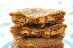 Deep Dish Biscoff Peanut Butter Chip Cookies(From Scratch <3)