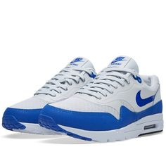 Nike Air Max 1 Ultra Essentials (Pure Platinum & Game Royal)