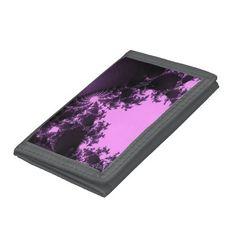 Wallet, fractal pink
