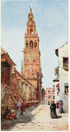 Notre Dame, Big Ben, Contemporary Art, Fine Art, Building, Bella, Instagram, Watercolor, Cordoba Spain