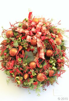 Lovely holiday wreath