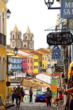 Bahia/Salvador/Pelourinho| @devastatingly
