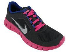 NIKE Free Run 3 Girls Running Shoes Nike. $57.64