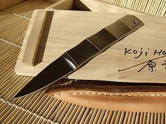 """Koji Hara - Japan - """"Bamboo"""" knife"""