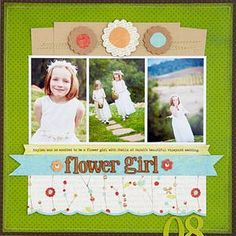 Flower Girl Layout