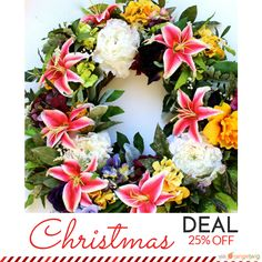 25% OFF on select products. Hurry, sale ending soon!  Check out our discounted products now: https://www.etsy.com/shop/WreathsByBobette?utm_source=Pinterest&utm_medium=Orangetwig_Marketing&utm_campaign=Pre-Holiday%20Favorites   #etsy #etsyseller #etsyshop #etsylove #etsyfinds #etsygifts #musthave #loveit #instacool #shop #shopping #onlineshopping #instashop #love