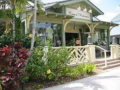Tommy Bahama's Restaurant on 3rd Street in Naples, FL. Great food and a fabulous happy hour.