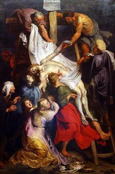 descente de Croix 1616 by Paul Rubens