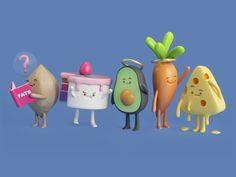 FOOD by Aarón Martínez #Design Popular #Dribbble #shots