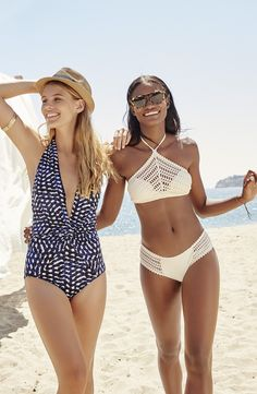 Robin Piccone 'Audrey' Plunge One-Piece Swimsuit at Nordstrom