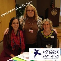 Thanks to our It's About Kids leader Angie Shehorn, we presented #KIDSCOUNT data in Pueblo, Colorado.