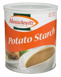 Manischewitz Potato Starch Canister, 16-Ounce - Corn-Free (use instead of corn starch)