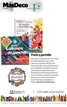 Libros de Ganchillo - Revista Más Deco, La tercera. 11/06/2011 - MilAires, Boutique del Libro.