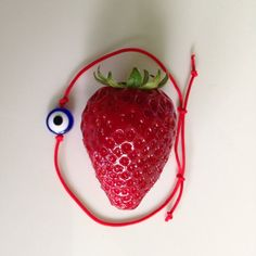 Red String Kabbalah Bracelets Blue Eye by BannerDesignShop on Etsy