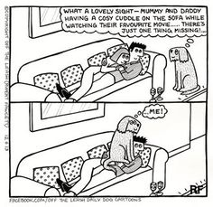 Off The Leash cartoons are THE BEST
