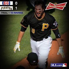 Neil Walker with a walk off homer to win! Way to start off the season!!! Lets go Bucs!